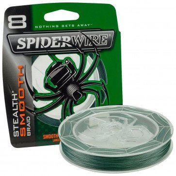 Spiderwire Stealth Smooth 8 Grøn - 150 og 300 meter