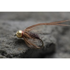 UF Head Caddis Pupa Brown size: 14